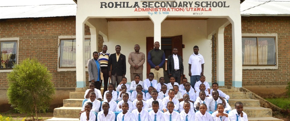 The School Director, Guests, and Students During 2017 welcome form one ceremony, held on January 28, 2017